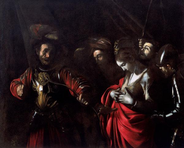Visit Saint Ursula martir by Caravaggio   Naples Zevallos Palace
