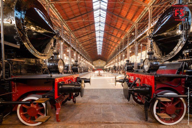 Scorpri il Museo Ferroviario di Pietrarsa a Napoli