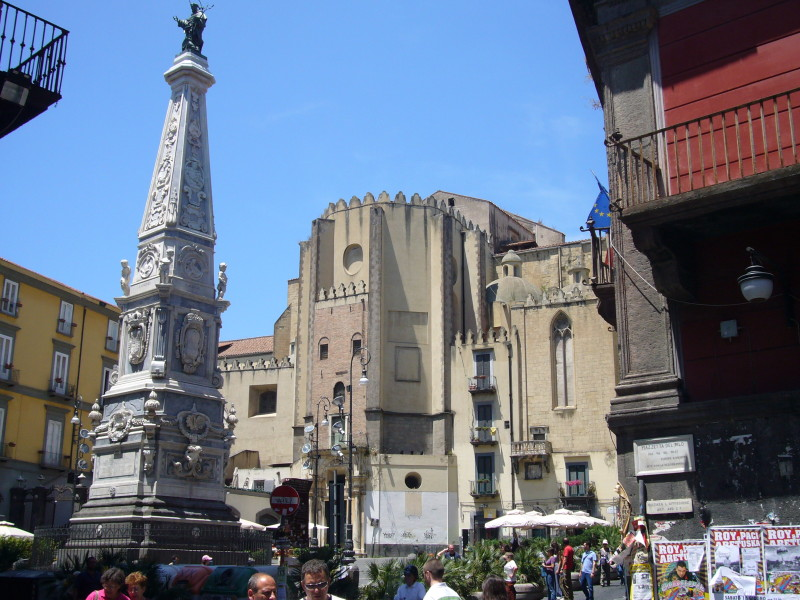 Visit San Domenico Maggiore Church – Naples