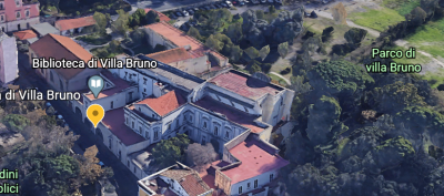 Outside Naples. Discover Villa Bruno, an oasis of culture in San Giorgio a Cremano